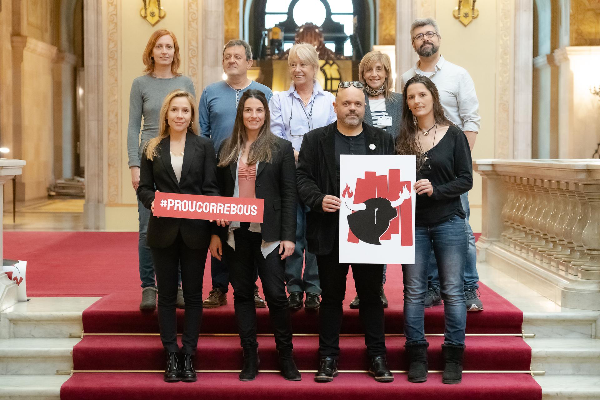 """¡Nace la plataforma """"Prou Correbous"""" para luchar contra el maltrato animal en las fiestas con toros de Cataluña!"""